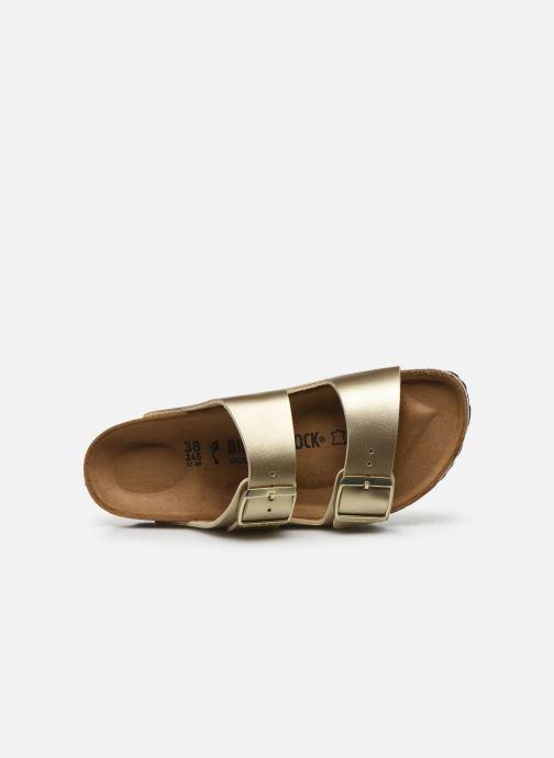 Clogs & Pantoletten Birkenstock Arizona EVA W gold/bronze ansicht von links