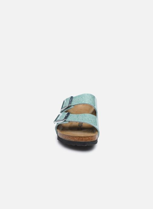 Mules et sabots Birkenstock Arizona EVA W Vert vue portées chaussures