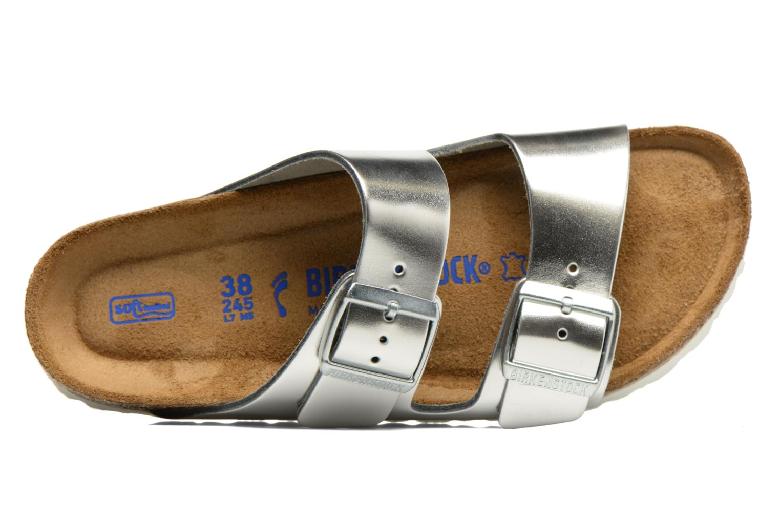 Mules & clogs Birkenstock Arizona W Silver view from the left