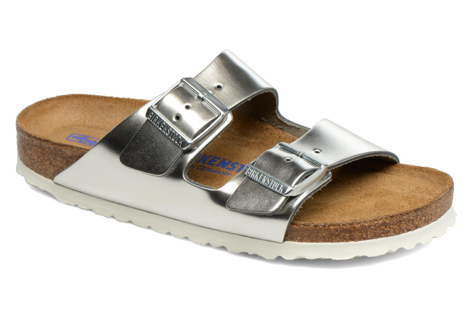 Mules & clogs Birkenstock Arizona W Silver detailed view/ Pair view