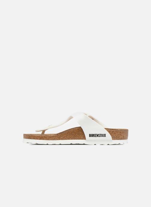 Sandales et nu-pieds Birkenstock Gizeh W Blanc vue face