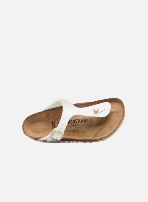 Sandales et nu-pieds Birkenstock Gizeh W Blanc vue gauche