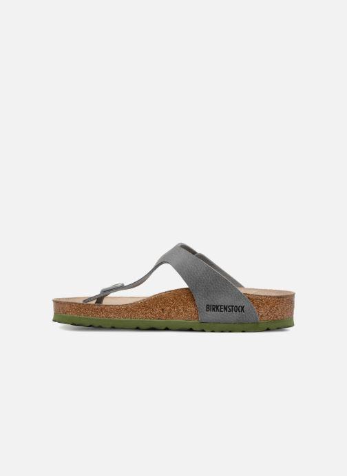 Sandali e scarpe aperte Birkenstock Gizeh W Grigio immagine frontale