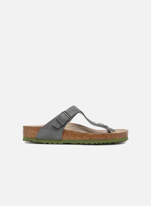 Sandali e scarpe aperte Birkenstock Gizeh W Grigio immagine posteriore
