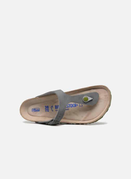 Sandali e scarpe aperte Birkenstock Gizeh W Grigio immagine sinistra