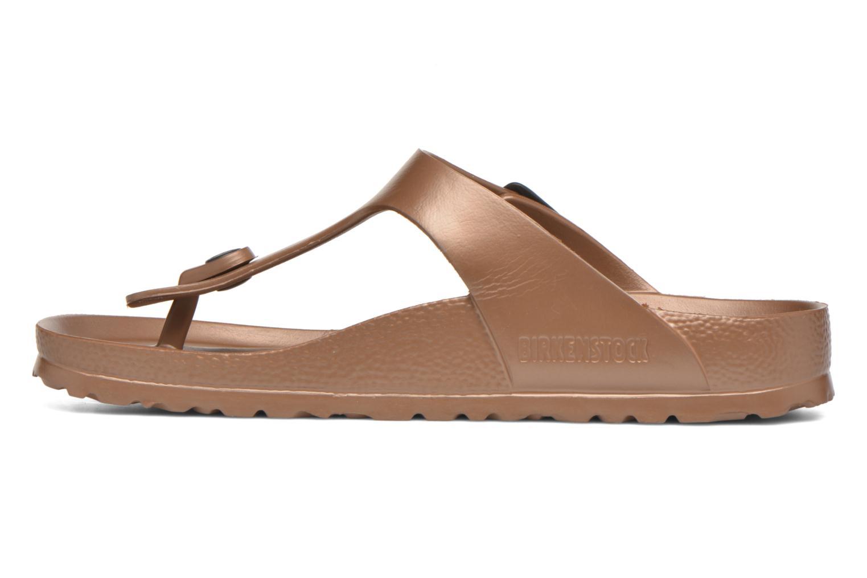Sandales et nu-pieds Birkenstock Gizeh EVA W Marron vue face
