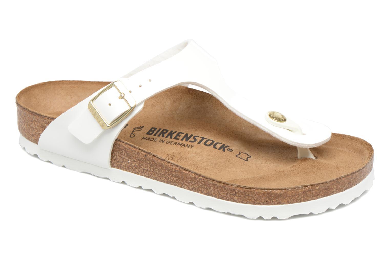 Sandales et nu-pieds Birkenstock Gizeh W Blanc vue détail/paire