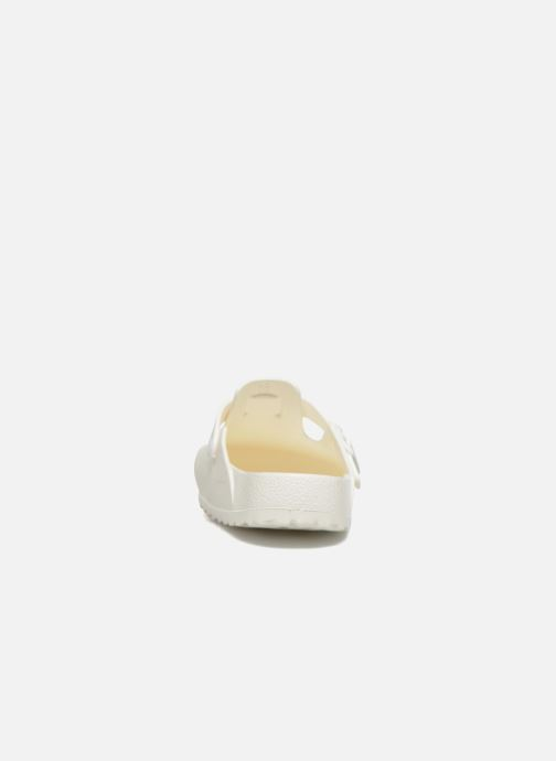 Sandales et nu-pieds Birkenstock Boston Eva Blanc vue droite