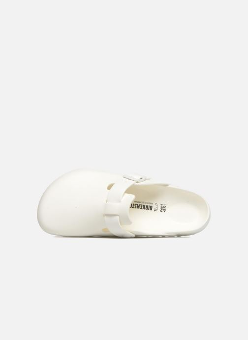 Sandales et nu-pieds Birkenstock Boston Eva Blanc vue gauche