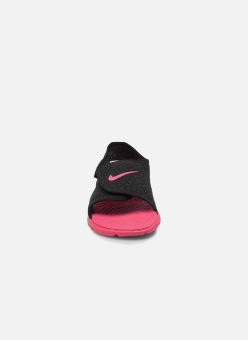 Sandals Nike Nike Sunray Adjust 4 (Gs/Ps) Black model view