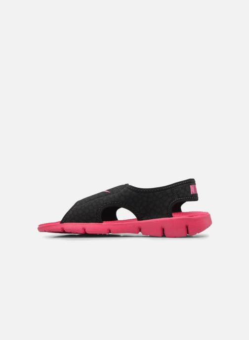 Sandals Nike Nike Sunray Adjust 4 (Gs/Ps) Black front view
