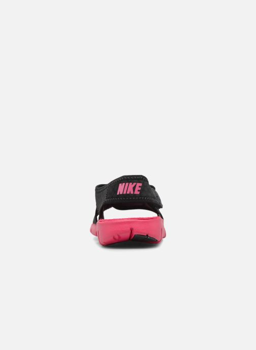 Sandals Nike Nike Sunray Adjust 4 (Gs/Ps) Black view from the right
