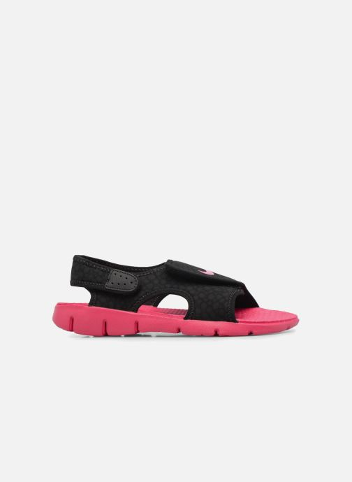 Sandals Nike Nike Sunray Adjust 4 (Gs/Ps) Black back view