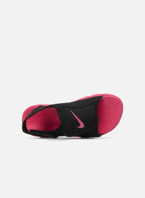Sandals Nike Nike Sunray Adjust 4 (Gs/Ps) Black view from the left