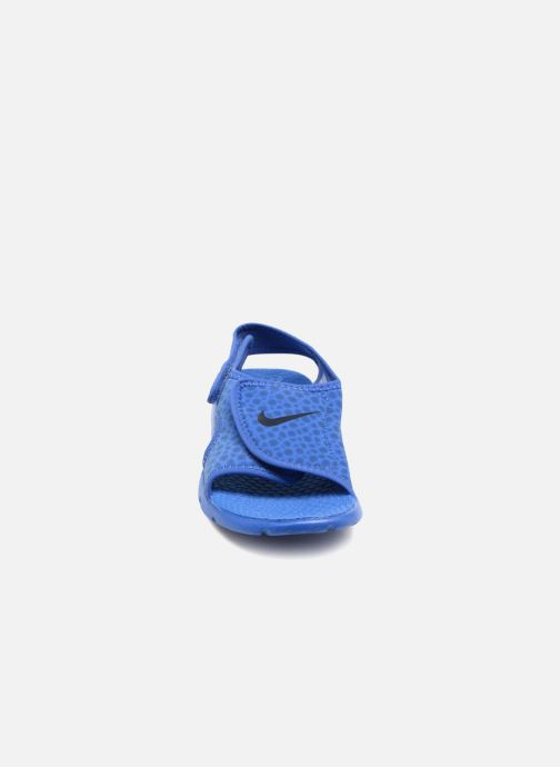 Sandals Nike Nike Sunray Adjust 4 (Gs/Ps) Blue model view