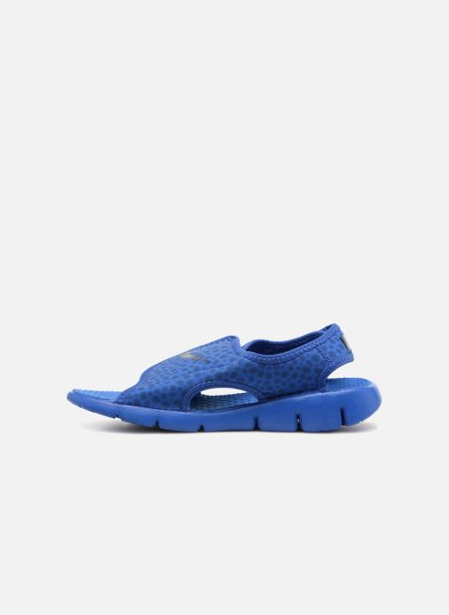 Sandals Nike Nike Sunray Adjust 4 (Gs/Ps) Blue front view
