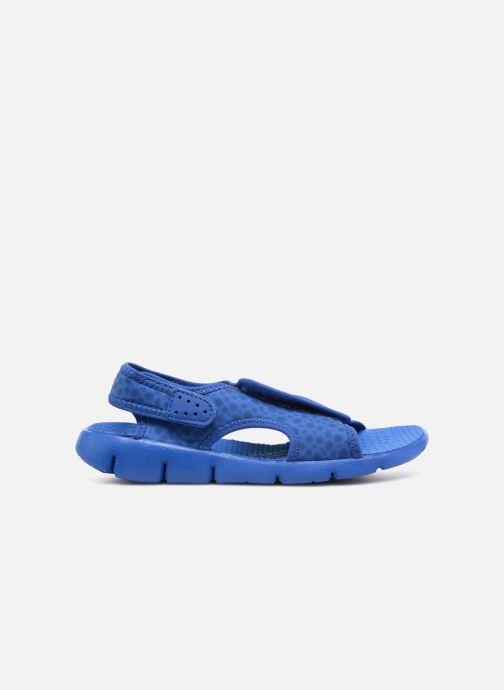 Sandals Nike Nike Sunray Adjust 4 (Gs/Ps) Blue back view