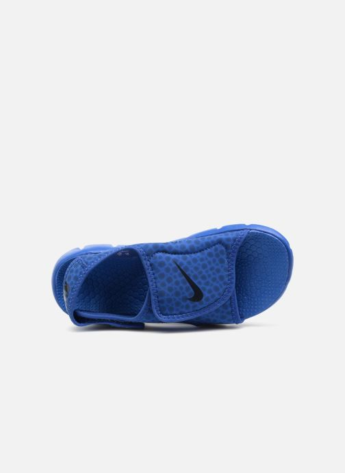 Sandals Nike Nike Sunray Adjust 4 (Gs/Ps) Blue view from the left