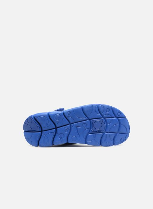 Sandals Nike Nike Sunray Adjust 4 (Gs/Ps) Blue view from above