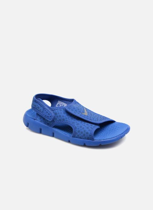 Sandals Nike Nike Sunray Adjust 4 (Gs/Ps) Blue detailed view/ Pair view