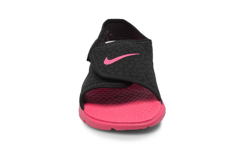 Sandalen Nike Nike Sunray Adjust 4 (Gs/Ps) schwarz schuhe getragen