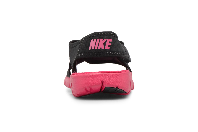 Sandalen Nike Nike Sunray Adjust 4 (Gs/Ps) schwarz ansicht von rechts