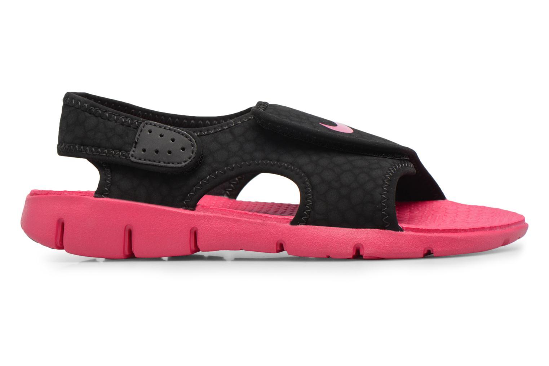 Sandalen Nike Nike Sunray Adjust 4 (Gs/Ps) schwarz ansicht von hinten