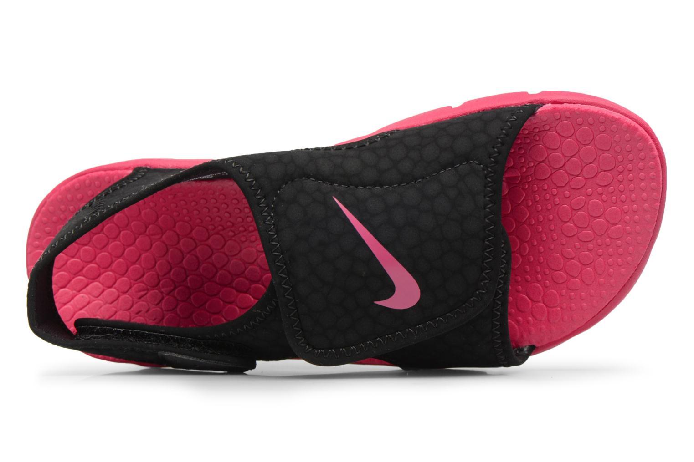 Sandalen Nike Nike Sunray Adjust 4 (Gs/Ps) Zwart links