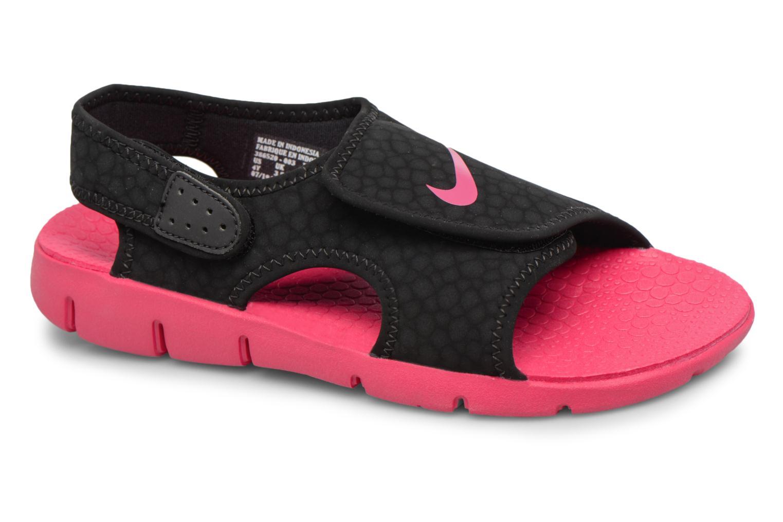 Sandalen Nike Nike Sunray Adjust 4 (Gs/Ps) Zwart detail