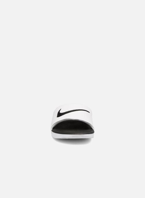Sandalias Nike Nike Kawa Slide (Gs/Ps) Blanco vista del modelo