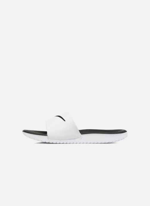 Sandalias Nike Nike Kawa Slide (Gs/Ps) Blanco vista de frente