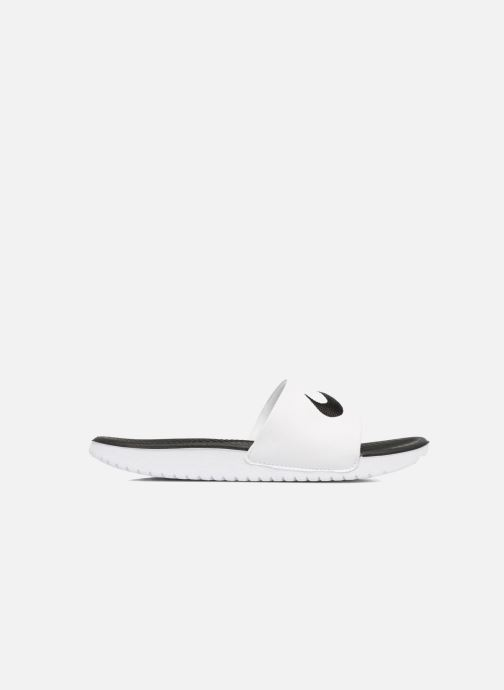 Sandali e scarpe aperte Nike Nike Kawa Slide (Gs/Ps) Bianco immagine posteriore