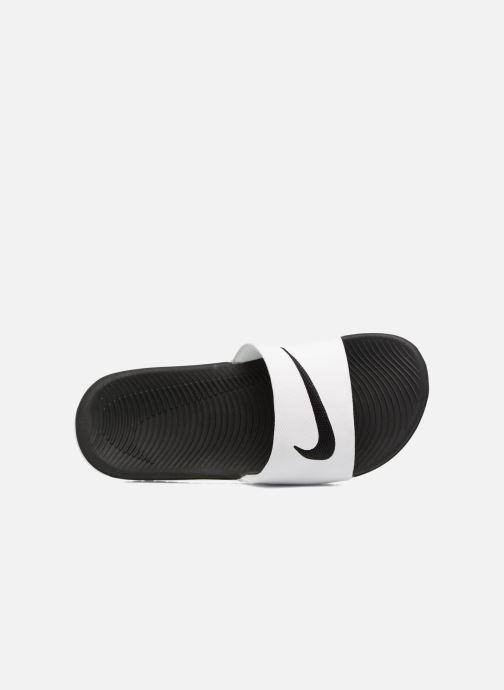 Sandali e scarpe aperte Nike Nike Kawa Slide (Gs/Ps) Bianco immagine sinistra