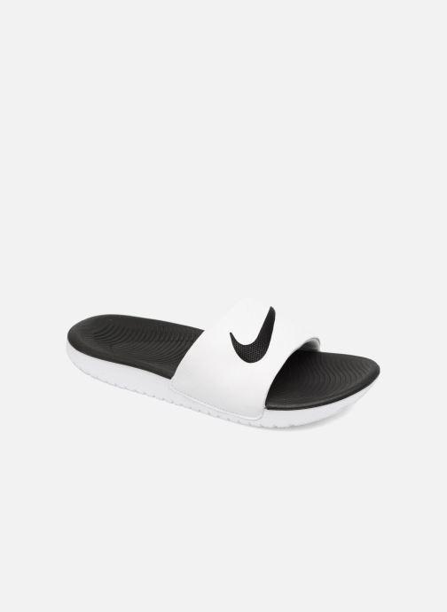 factory authentic 3885f 9561a Sandales et nu-pieds Nike Nike Kawa Slide (Gs Ps) Blanc vue
