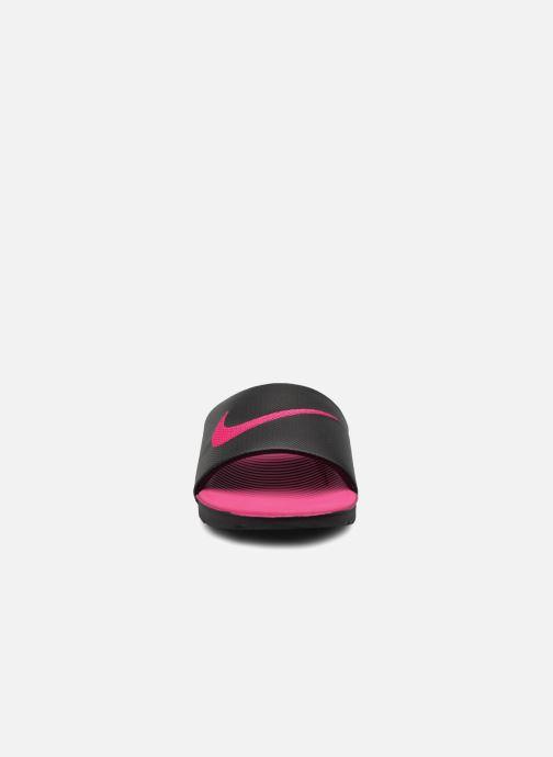 Sandales et nu-pieds Nike Nike Kawa Slide (Gs/Ps) Noir vue portées chaussures