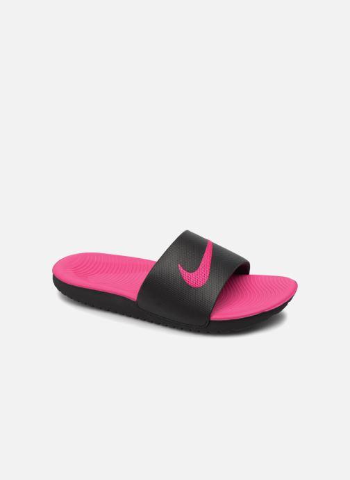 new arrival 3b686 e52f7 Sandales et nu-pieds Nike Nike Kawa Slide (Gs Ps) Noir vue