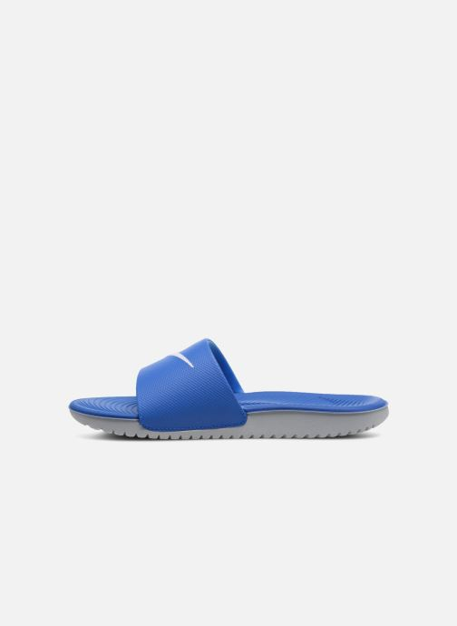 Sandalias Nike Nike Kawa Slide (Gs/Ps) Azul vista de frente