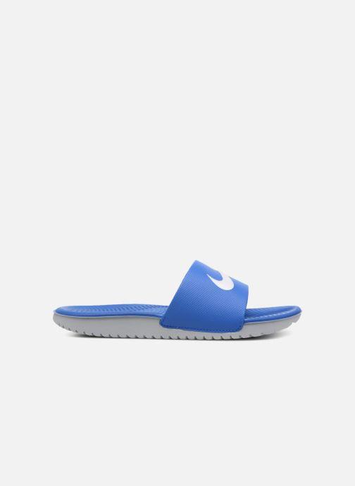 Sandalen Nike Nike Kawa Slide (Gs/Ps) Blauw achterkant