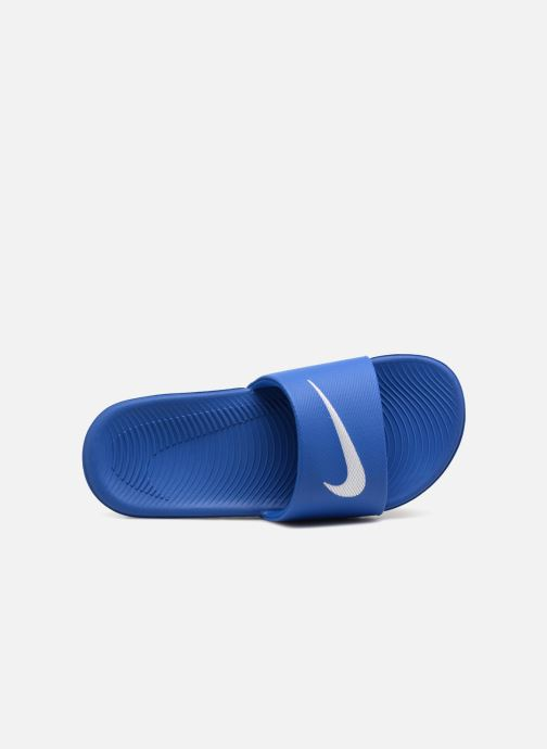 Sandals Nike Nike Kawa Slide (Gs/Ps) Blue view from the left