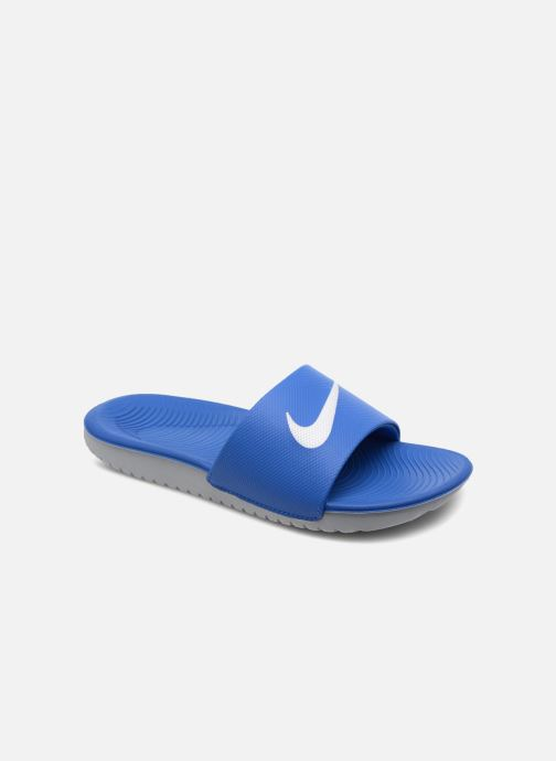 Sandals Nike Nike Kawa Slide (Gs/Ps) Blue detailed view/ Pair view