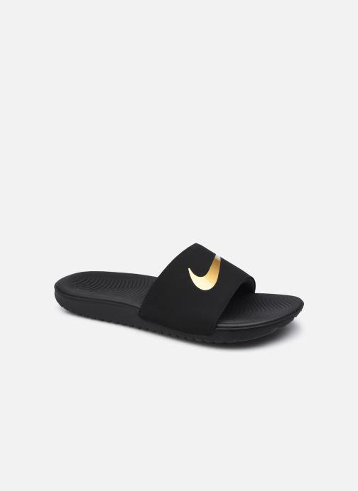 Sandales et nu-pieds Nike Nike Kawa Slide (Gs/Ps) Noir vue détail/paire