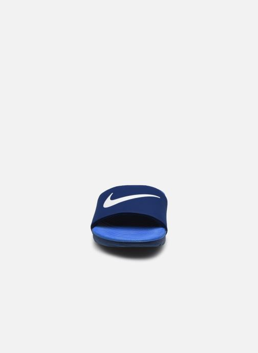 Sandales et nu-pieds Nike Nike Kawa Slide (Gs/Ps) Bleu vue portées chaussures