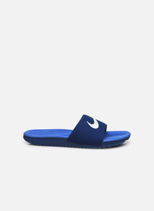 Sandales et nu-pieds Nike Nike Kawa Slide (Gs/Ps) Bleu vue derrière