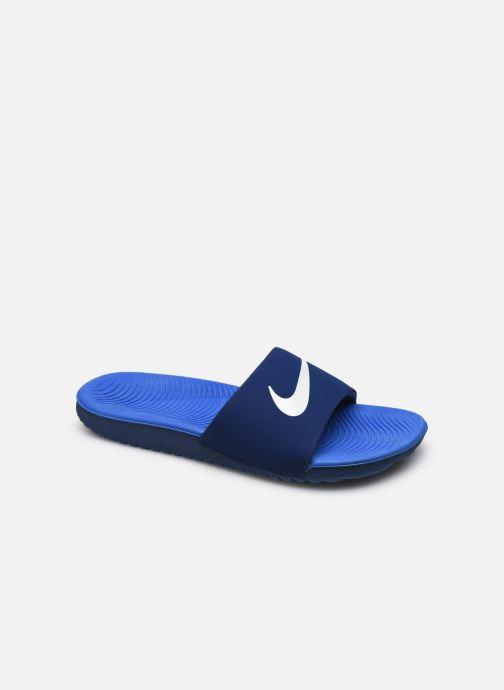 Sandales et nu-pieds Nike Nike Kawa Slide (Gs/Ps) Bleu vue détail/paire