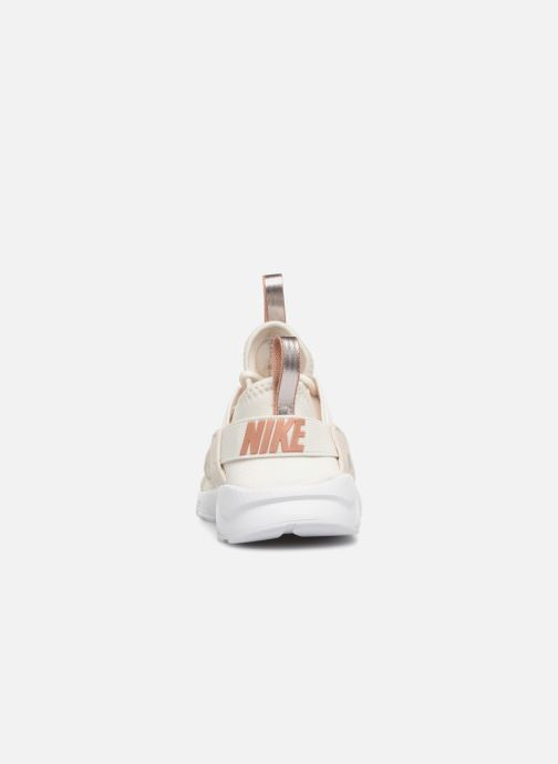 Baskets Nike Nike Huarache Run Ultra (Ps) Blanc vue droite