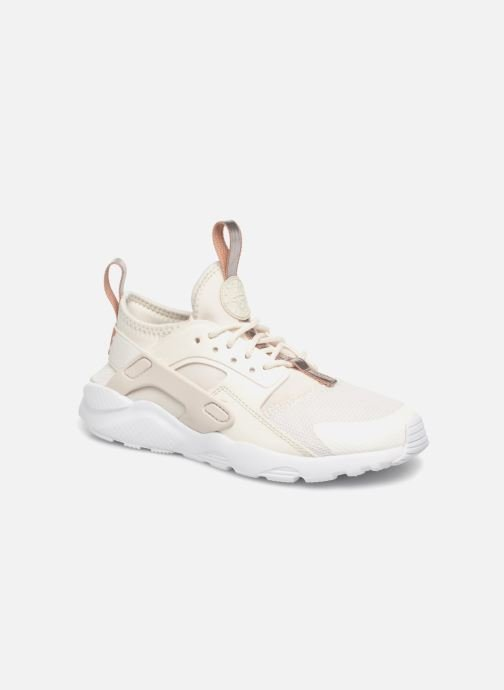 Baskets Nike Nike Huarache Run Ultra (Ps) Blanc vue détail/paire