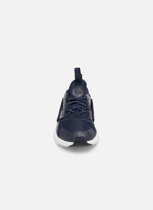 Sneaker Nike Nike Huarache Run Ultra (Ps) blau schuhe getragen