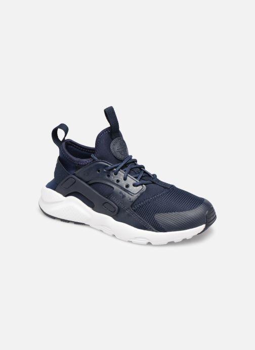 Sneakers Nike Nike Huarache Run Ultra (Ps) Blå detaljerad bild på paret