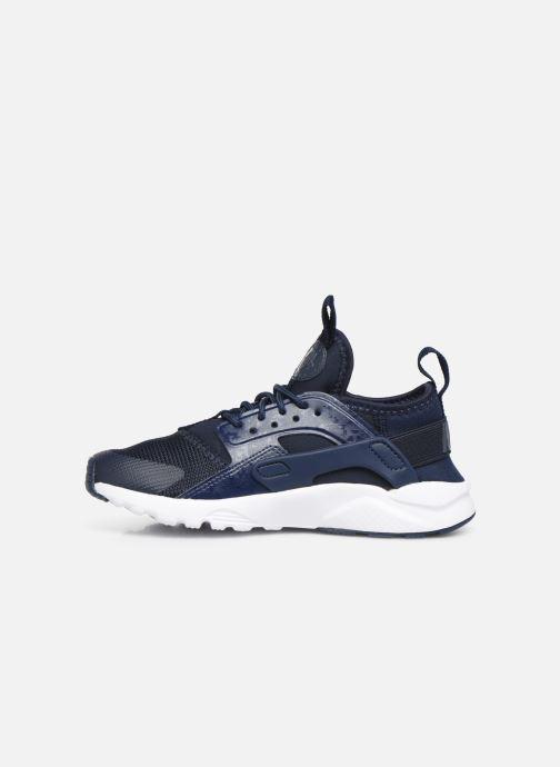 Sneakers Nike Nike Huarache Run Ultra (Ps) Blå se forfra