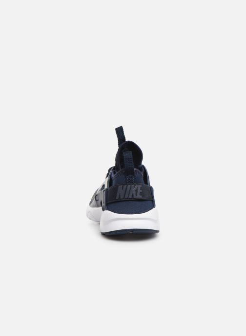 Trainers Nike Nike Huarache Run Ultra (Ps) Blue view from the right